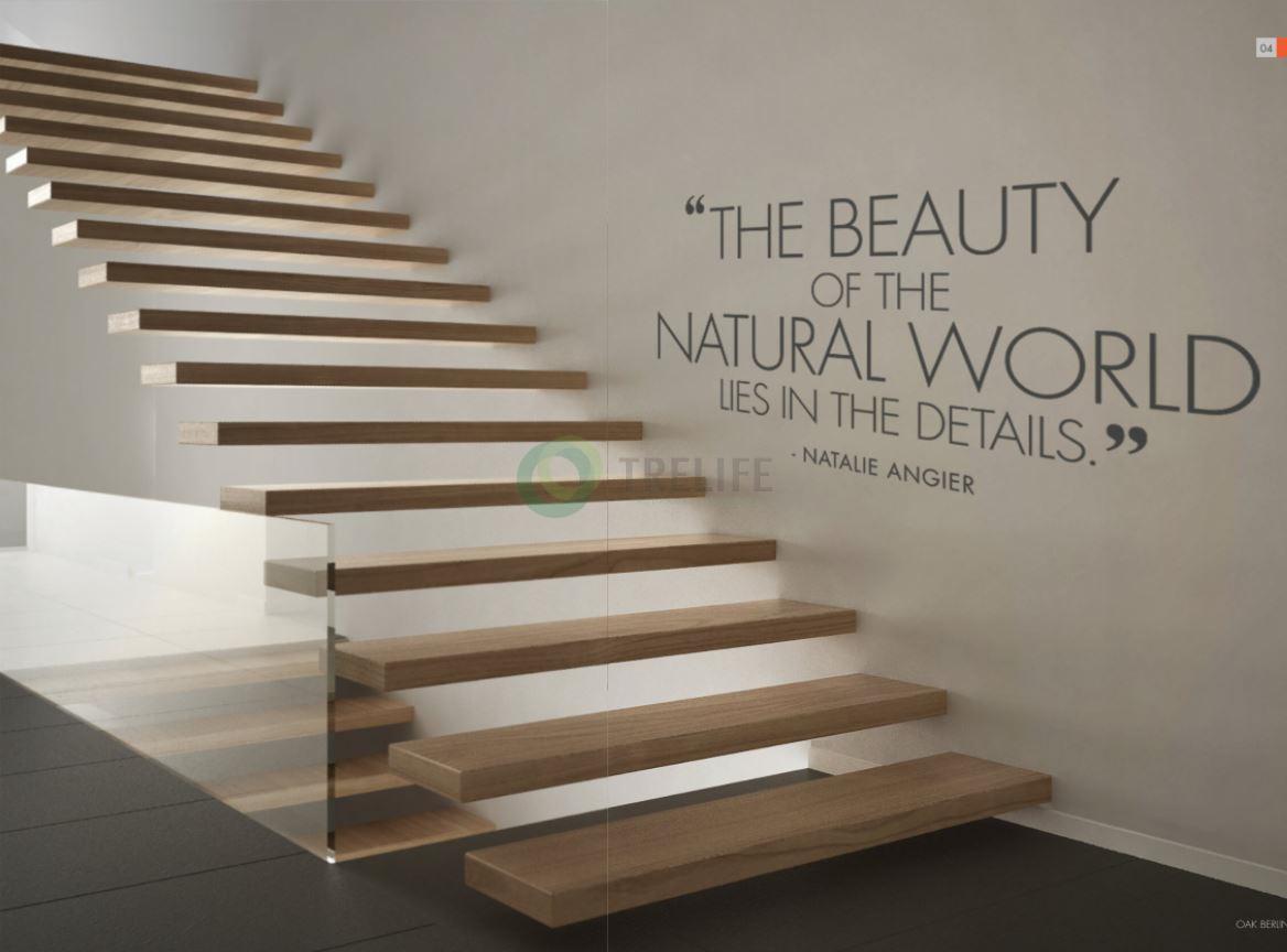 Cầu thang gỗ kỹ thuật dòng cổ điển Classic Stairs