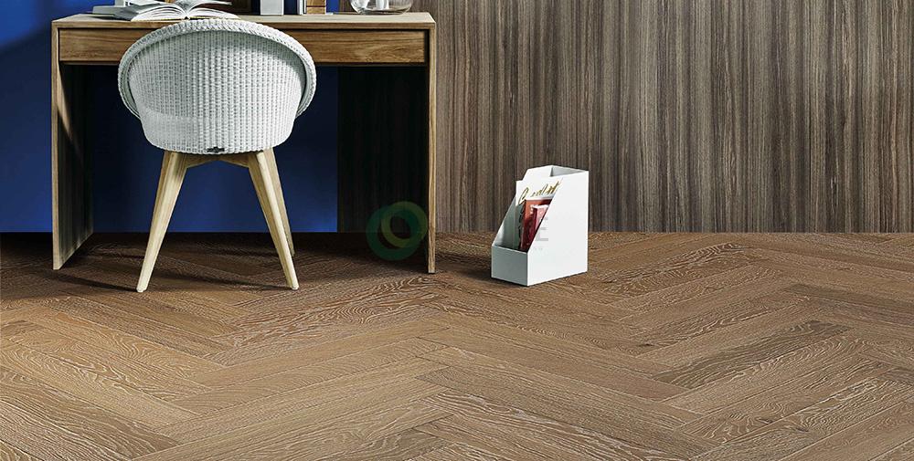 Sàn gỗ kỹ thuật xương cáHerringbone - OAK MOONLIGHT