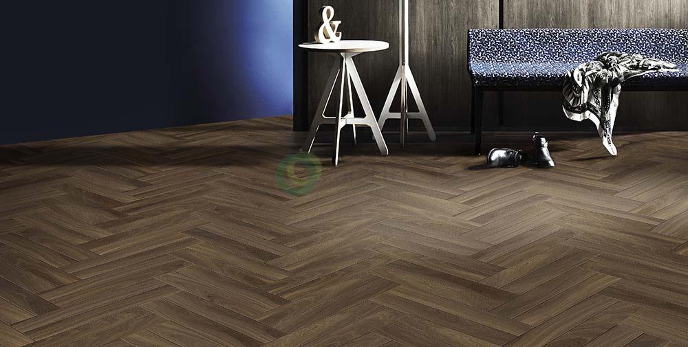 Sàn gỗ kỹ thuật xương cáHerringbone - OAK SMOKEHOUSE