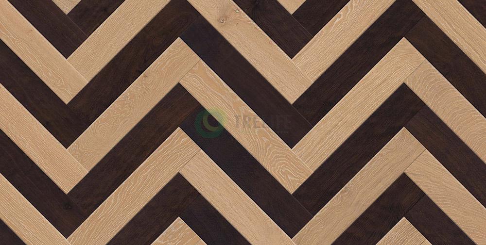 Sàn gỗ kỹ thuật xương cáHerringbone Twine - OAK MOONLIGHT và OAK FUMMER