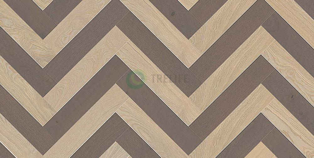 Sàn gỗ kỹ thuật xương cáHerringbone Twine - OAK SEA MIST và OAK WINTER