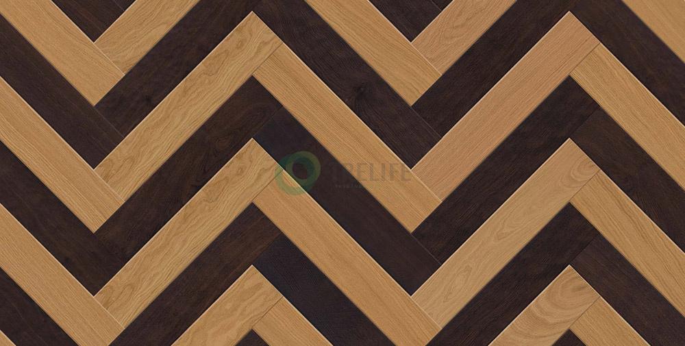 Sàn gỗ kỹ thuật xương cáHerringbone Twine - OAK STOCKHOLM và OAK FUMER